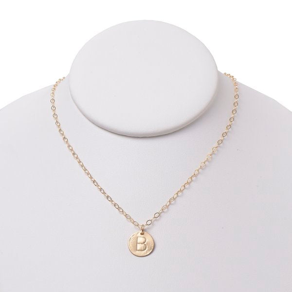 Monogram Goldfill Necklace