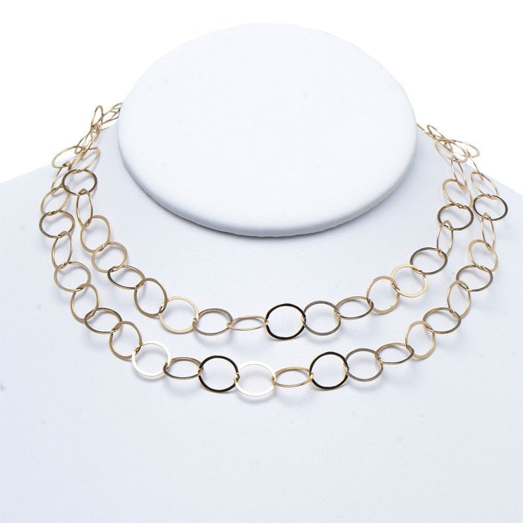 10mm Goldfill Long Chain