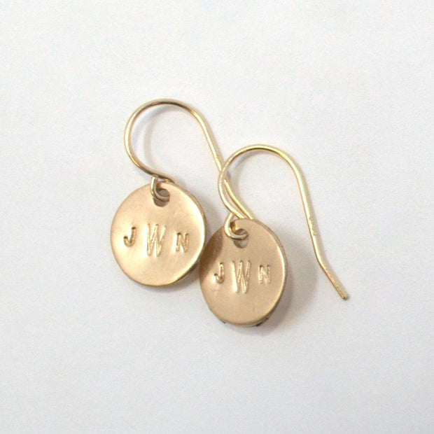 Monogram Goldfill Earrings