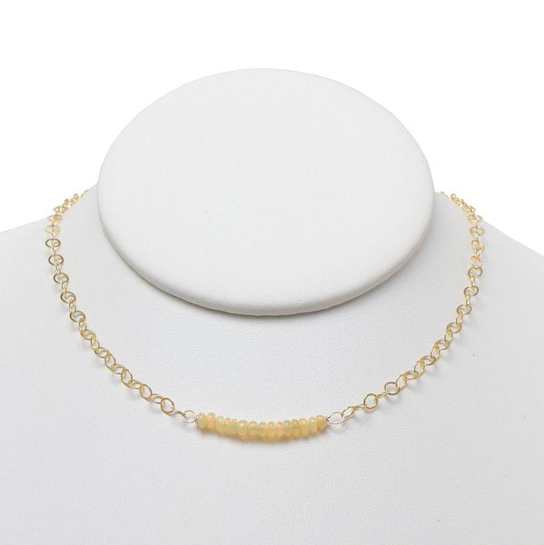 Opal & Goldfill Necklace