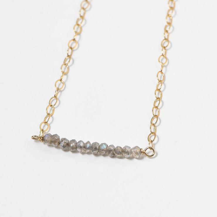 Labradorite & Goldfill Necklace