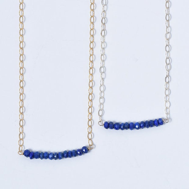 Lapis & Goldfill Necklace