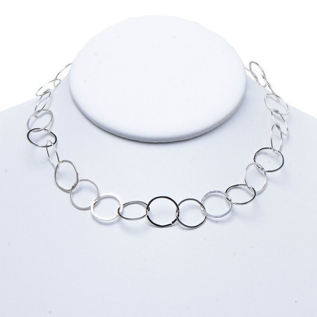 13mm Sterling Silver 16-30 Inch Chain
