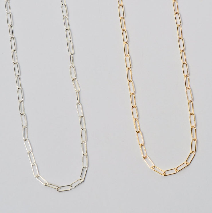 Goldfill Paperclip Chain