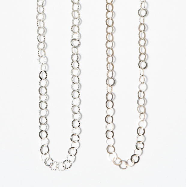 5mm Sterling Silver 16-30 Inch Chain