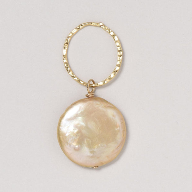 Light Gold Freshwater Pearl Pendant