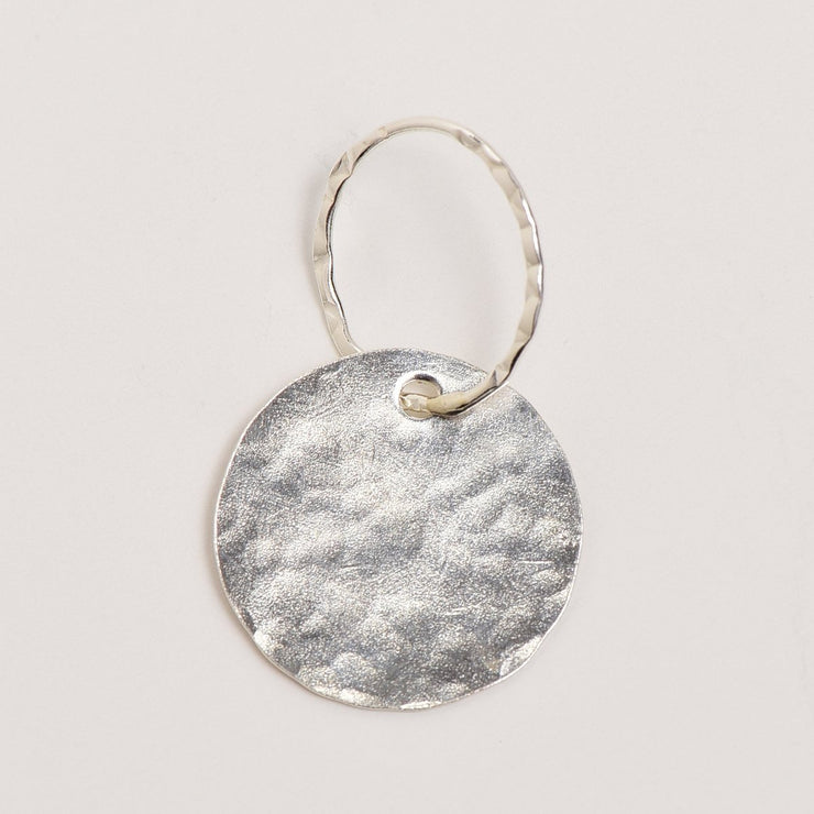 Sterling Silver Hammered Pendant