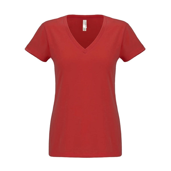 Next Level Women's Sueded V-Neck T-Shirt (Charlotte)
