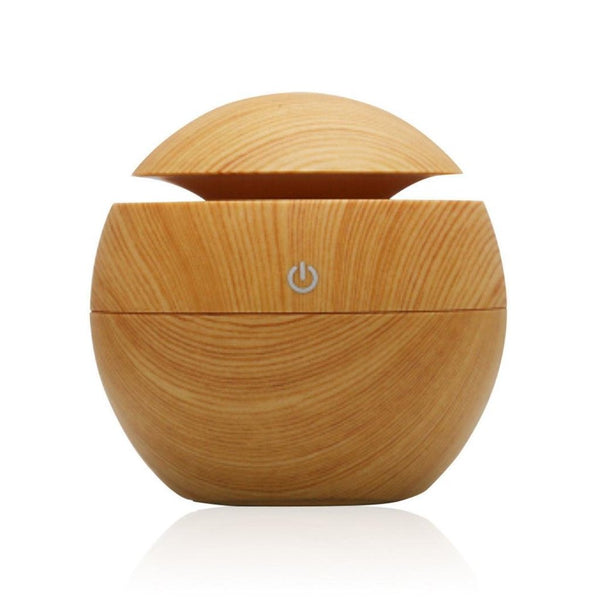 USB Wooden Aromatherapy Essential Oil Diffuser