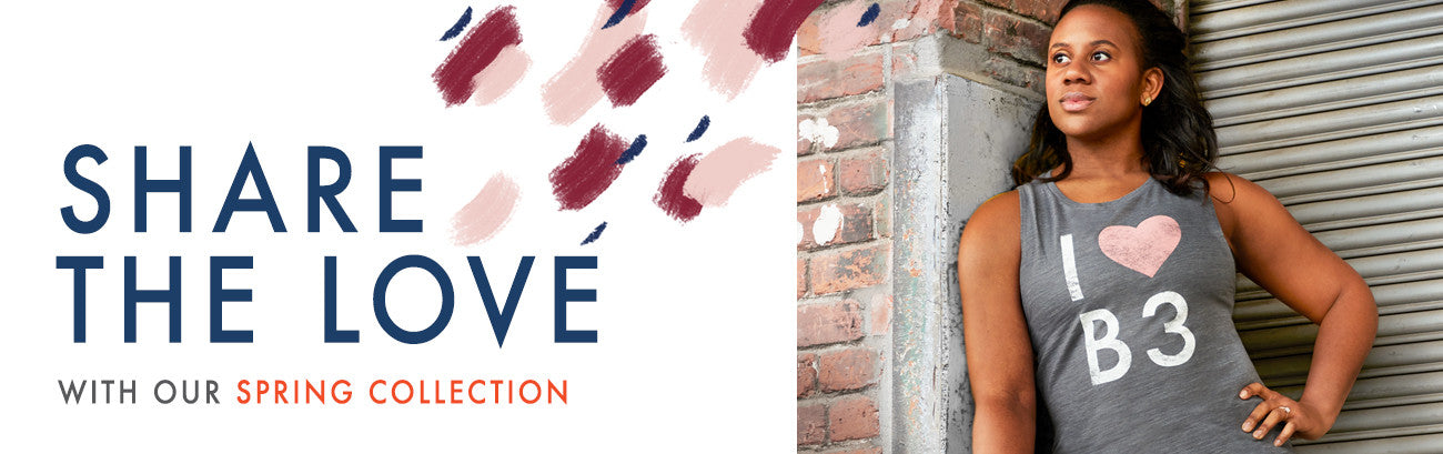 Share the love, barre3 spring collection
