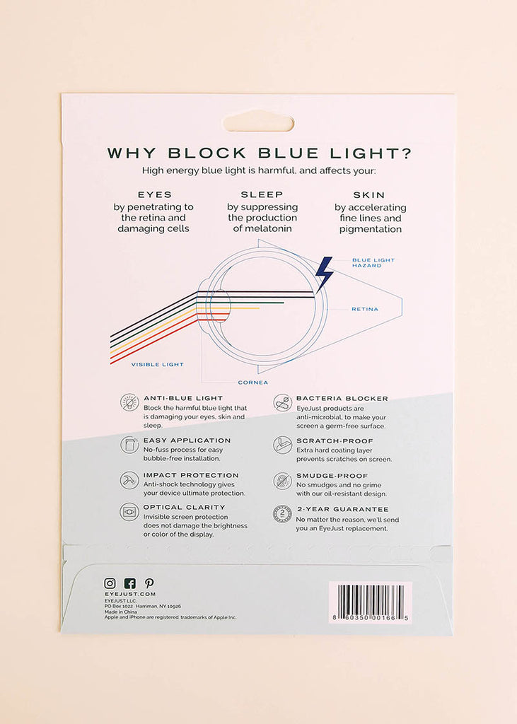 Blue Light Blocking Screen Protector