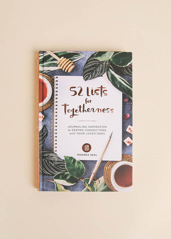 The 52 Lists Project - A Year of Weekly Journaling Inspiration by Moorea Seal