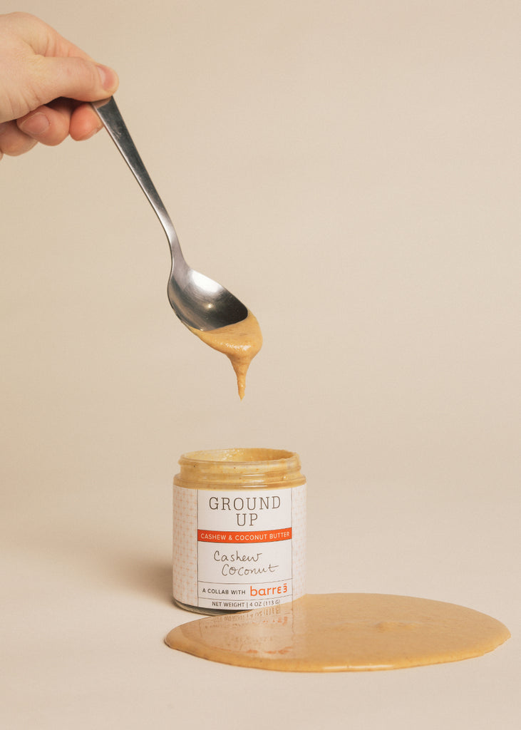 B3 x Ground Up Cashew Coconut Nut Butter