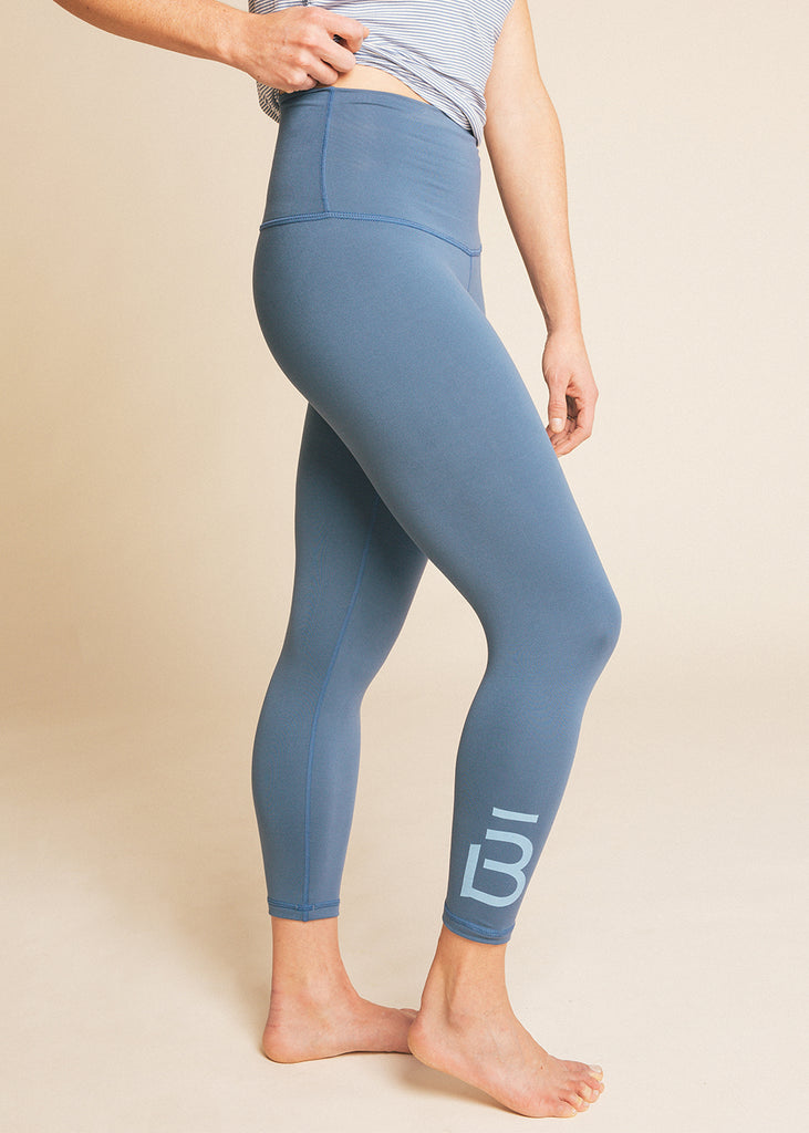 B3 x DYI Chambray High Waisted Midi Legging