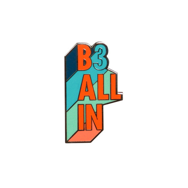 B3 All In Pin - Week 1