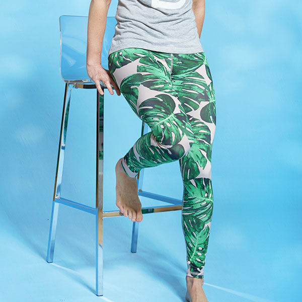 Alexis Mera Palm Leaf High Rise Legging