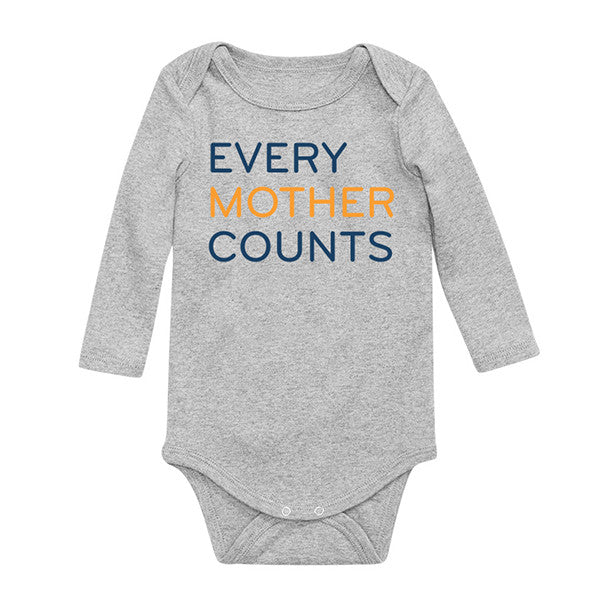 Every Mother Counts Onesie
