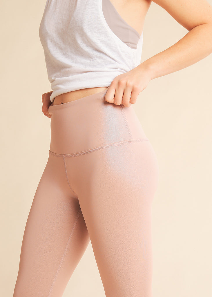 Pearlized High Waisted Legging