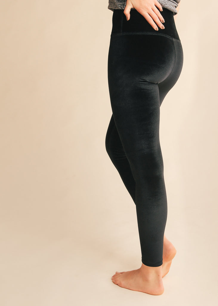 Velvet Motion High Waisted Legging