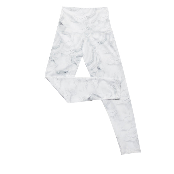 DYI White Marbled Legging