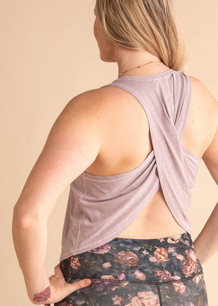 barre3 | lululemon Faster Than Light Muscle Tank