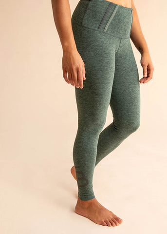 B3 X DYI Heathered Navy High Waisted Love Midi Legging