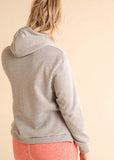High Neck Signature Hoodie