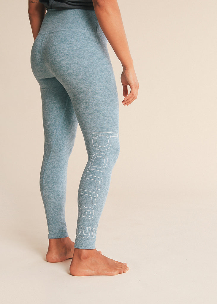 4dbd08a03e B3 X Beyond Yoga Blue Crush High Waisted Spacedye Midi Legging – barre3