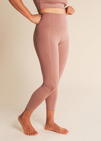 B3 X DYI Hot Coral Spacedye Midi Legging