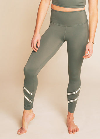 B3 x Beyond Yoga Black Multi High Waisted Midi Legging