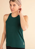 Emerald High Neck Signature Tank