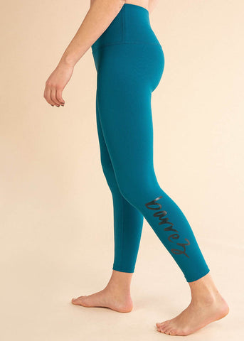 Colorblock High Waisted Long Legging