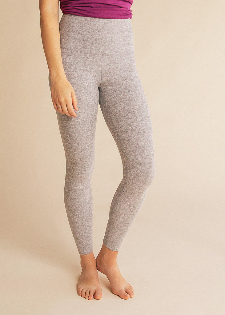 B3 x Beyond Yoga Siver Mist High Waisted Spacedye Legging