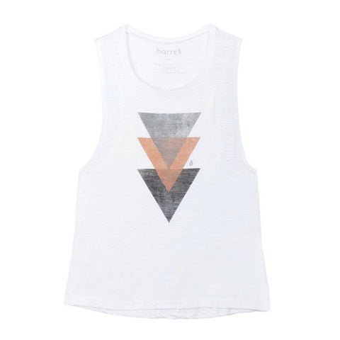 B3 White Label Criss Cross Tee