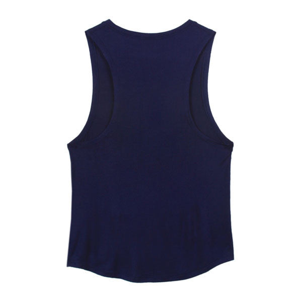 Navy Signature Muscle Tank