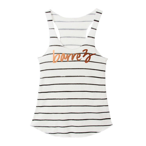 Distressed Signature Tank
