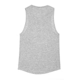 Heather Grey Logo Tank