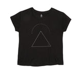 Triangle Boxy Tee