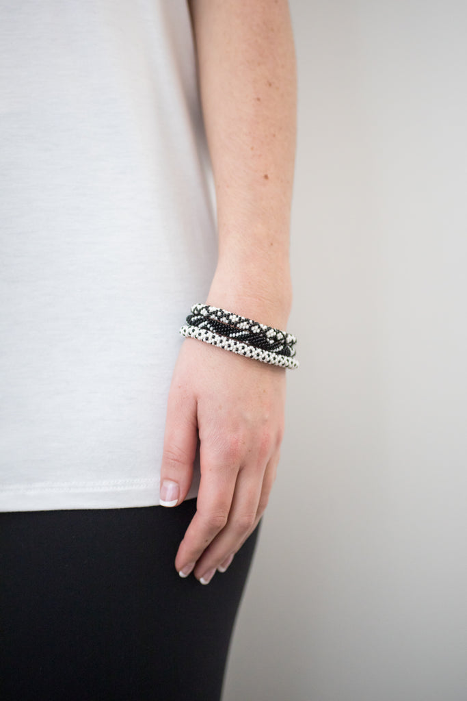 Aid Through Trade Bracelet Trio - Inkwell