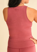 Grape Signature Side Seam Tank
