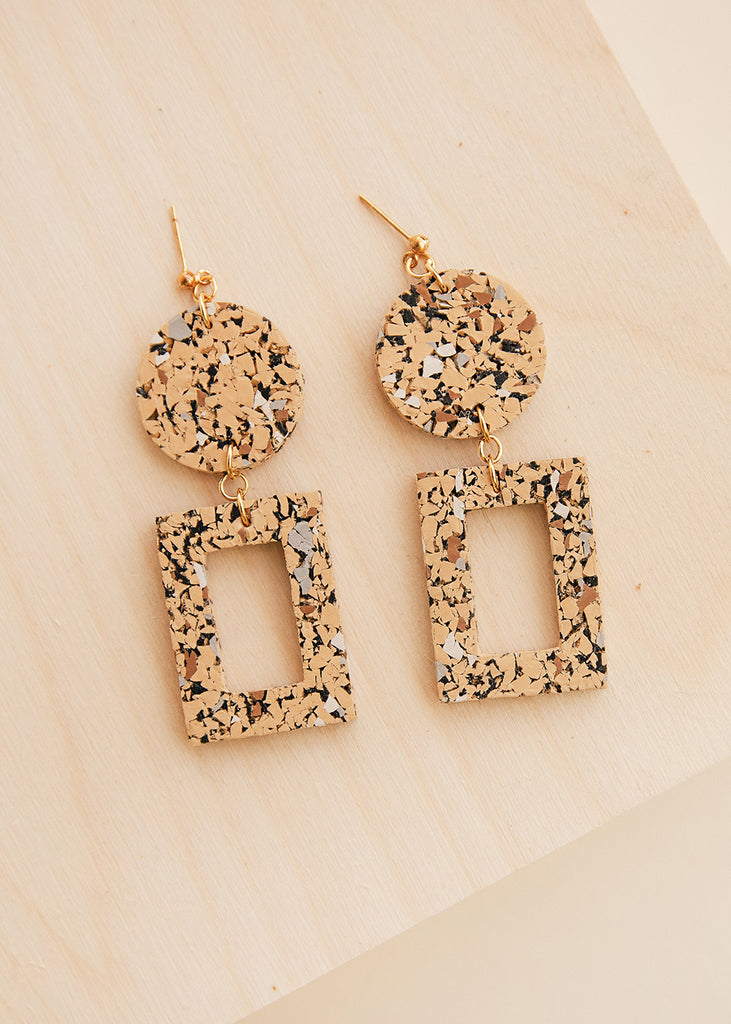 Delphi Multi Rubber Earrings