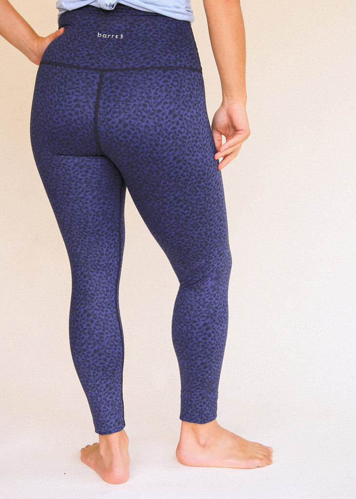 Navy Micro Camo Signature Legging