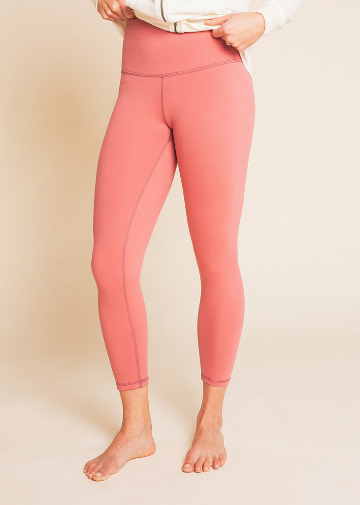 B3 x DYI Mauve High Waisted Midi Legging