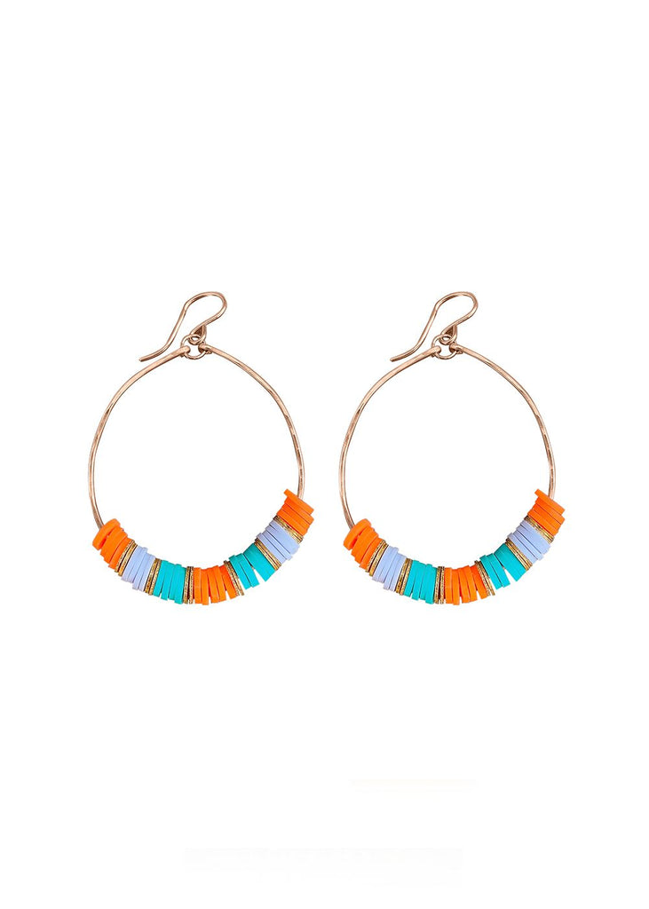 Mixed Hoop Earrings