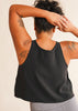 barre3 | lululemon Blissed Out Black Tank