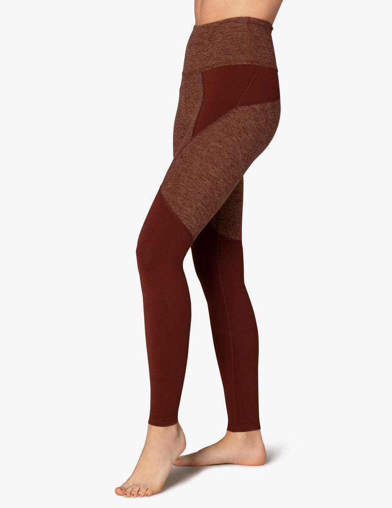Red Rock Spaced Panel Legging