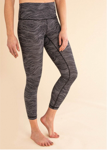 B3 x Beyond Yoga Darkest Night Featherweight Foldover Pant