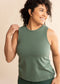 Eucalyptus Signature Hip Length Tank