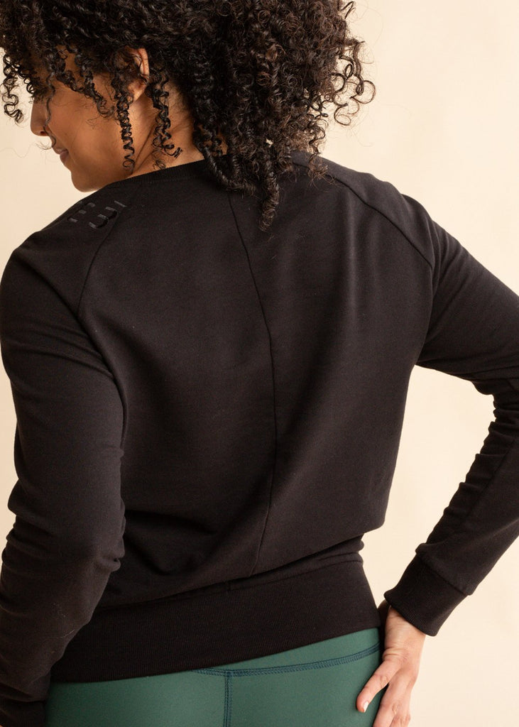 Black Long Sleeve Pullover