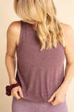 B3 X Beyond Yoga Deep Blush Muscle Tank